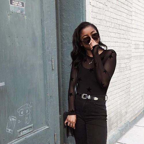 Black for summer 💕 #cellojeans #babesincello-